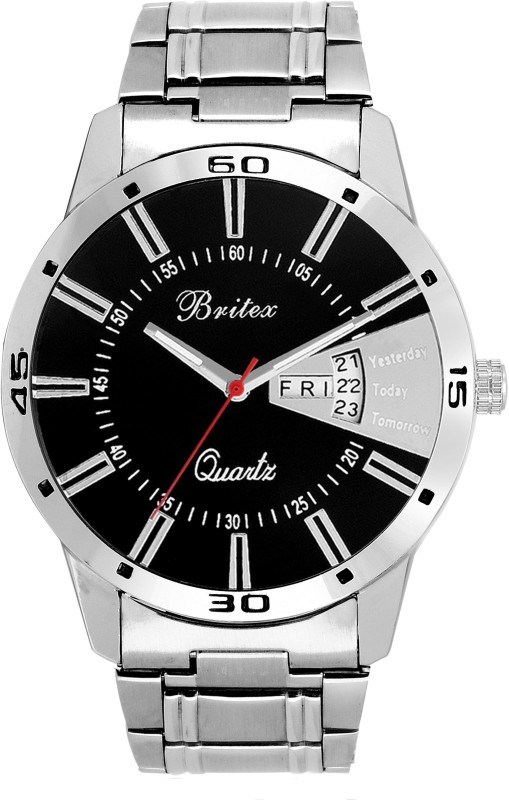 Britex BT6046 Bel Homme Day and Date Analog Watch For Men