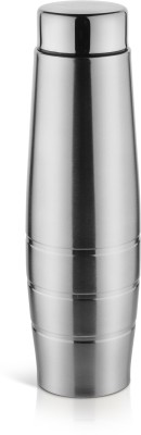 pexpo Duro series 1000 ml Water Bottle(Set of 1, Silver)