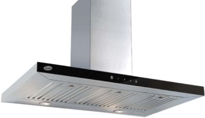 GLEN Cooker Hood 6056 TS 90cm 1250m3 BF LTW Wall Mounted Chimney(Sliver 1250)