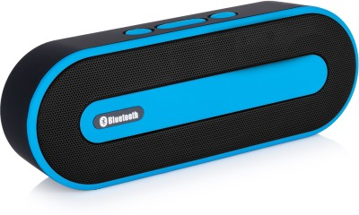 Pebble Muze 6W Portable Bluetooth Mobile/Tablet Speaker(Blue, Stereo Channel)