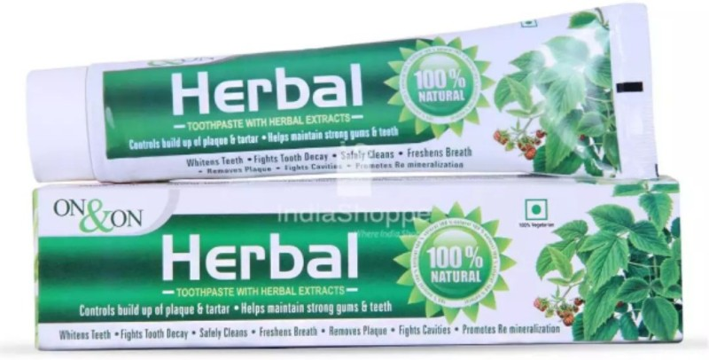 On & On ON ON DANT KANTI HERBAL TOOTHPASTE Neem Toothpaste(300 g)