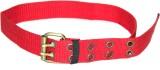 Ngtonline Men Red Canvas Belt