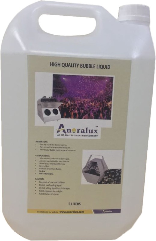 Anoralux Yes Bubble Machine Liquid(5 L)