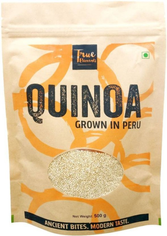 True Elements Peru Quinoa (White) Quinoa(500 g, Pack of 1)