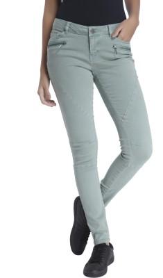 Vero Moda Slim Women's Green Jeans at flipkart