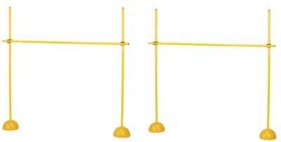 Sahni Sports Indoor/Outdoor Turf Training Poles With Dome Base And Poles Connector Football Kit