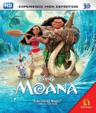 Moana - 3D Blu Ray (3D Blu-ray English)