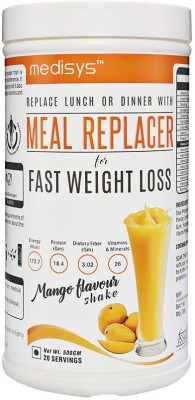 Medisys Nutritious Meal Replacer - Mango - 500gm Nutrition Drink(500 g, Mango)