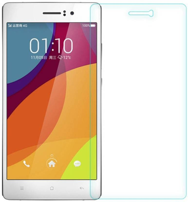 EASYBIZZ Tempered Glass Guard for Oppo Neo 7