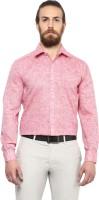 Copperline Formal Shirts (Men's) - Copperline Men's Solid Formal Red Shirt