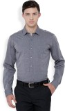 Black Coffee Men's Formal Grey Shirt