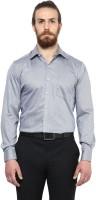 Copperline Formal Shirts (Men's) - Copperline Men's Printed Formal Grey Shirt