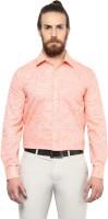 Copperline Formal Shirts (Men's) - Copperline Men's Solid Formal Orange Shirt