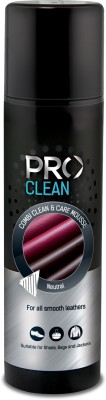 Pro Clean Combi Clean & Care Mousse Cleaner(Leather, Neutral)