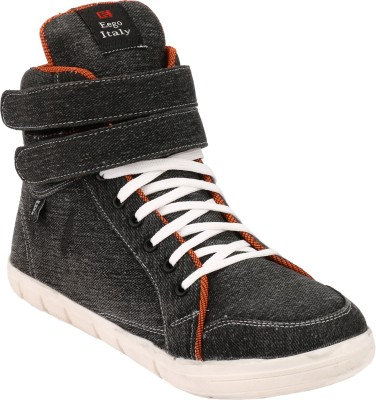 Eego Italy Stylish and Trendy Boots(Black)