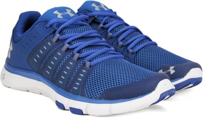 Under Armour Micro G Limitless TR 2 Training & Gym Shoes(Blue) at flipkart