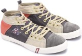 Lee Cooper Canvas Mid Ankle Sneakers (Gr...
