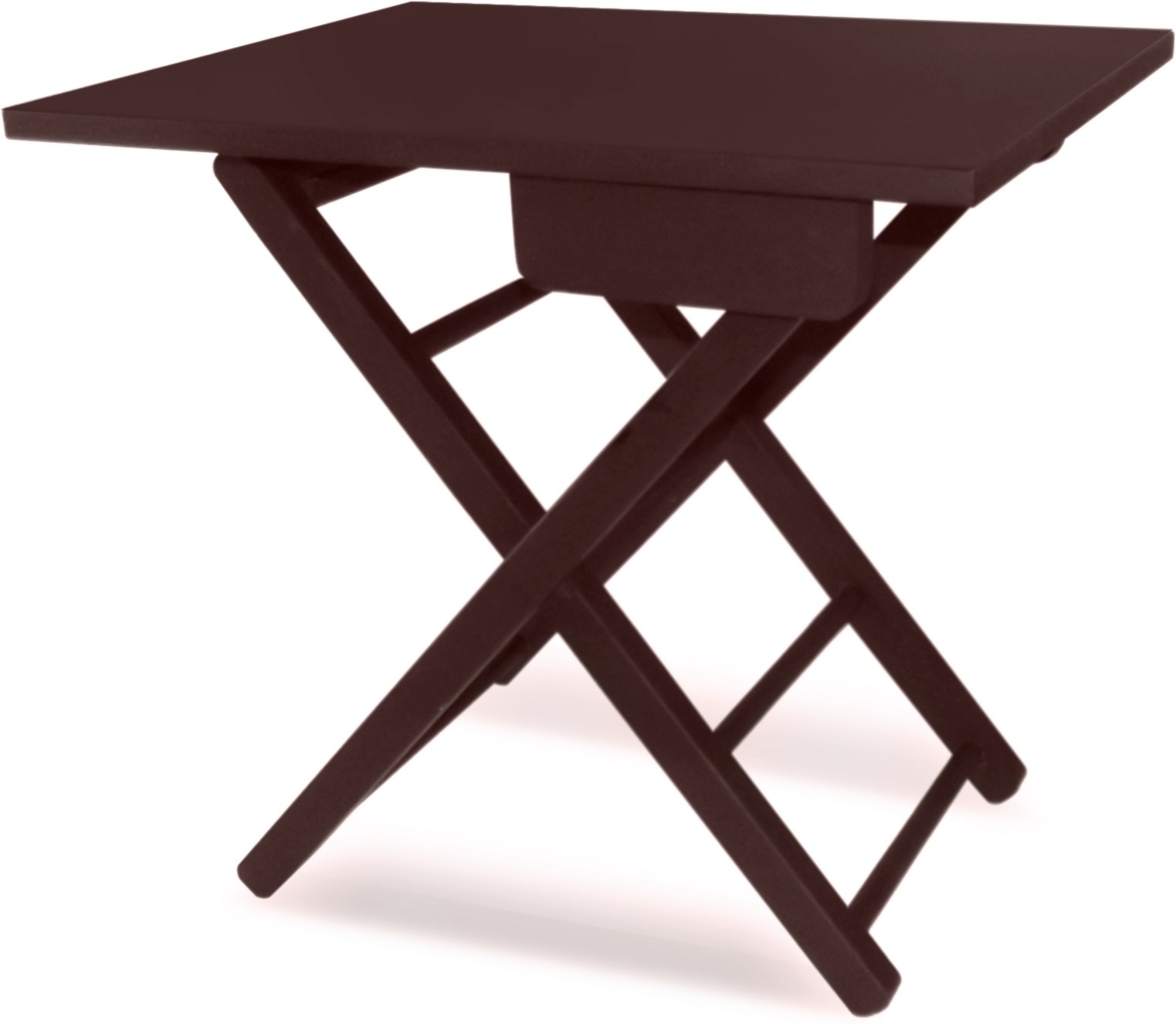 View Colorwood Cosy Foldable Tea & Side table Solid Wood Side Table(Finish Color - Brawn) Furniture (Colorwood)