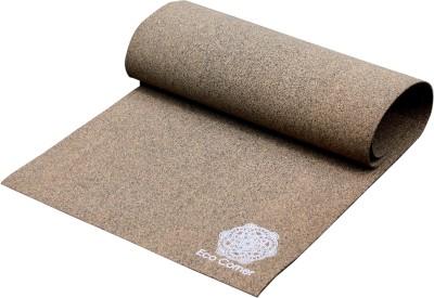 Eco Corner Textured Cork Brown 3 mm Yoga Mat