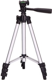 Maddcell Beginners camera & Mobile tripod Tripod Kit(Silver, Supports Up to 2000 g)