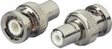 Rapter BNC male to RCA Female connector ...