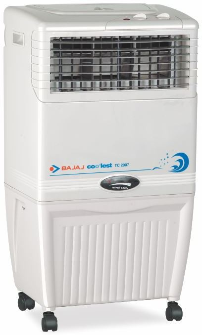 Bajaj TC 2007 Tower Air Cooler(White, 37 Litres)   Air Cooler  (Bajaj)