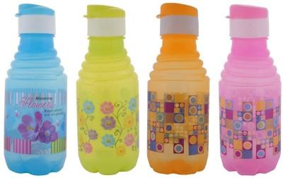 Aarushi Flip Top 500 ml Bottle(Pack of 4, Multicolor)