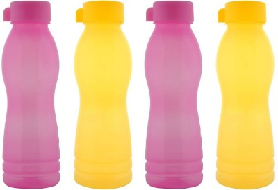 Aarushi Aqua Fresh 500 ml Bottle(Pack of 4, Multicolor)