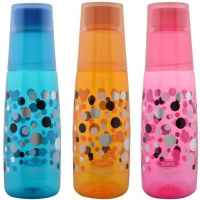 Aarushi Fridge Series 1000 ml Bottle(Pack of 3, Multicolor)