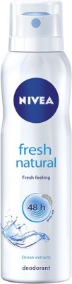 Nivea Fresh Natural Deodorant Spray - For Women(150 ml)