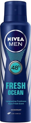 Nivea Fresh Ocean Deodorant Spray - For Men(150 ml)