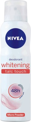 Nivea Whitening Talc Touch Deodorant Spray - For Women(150 ml)