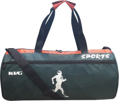 KVG KVG ENERGY RUNNING DUFFEL BAG Gym Bag(Green, Orange)