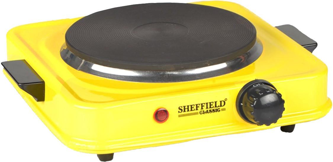 Sheffield Classic Sh 2001b Radiant Cooktop Yellow Push