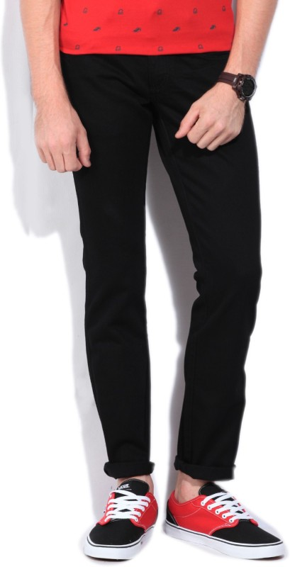 Wrangler Regular Men's Black Jeans