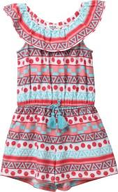 Beebay Printed Girls Jumpsuit
