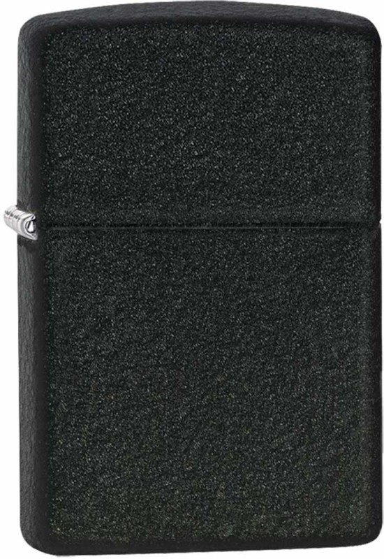 Zippo 236 Classic Plain Pocket Lighter(Black Crackle)