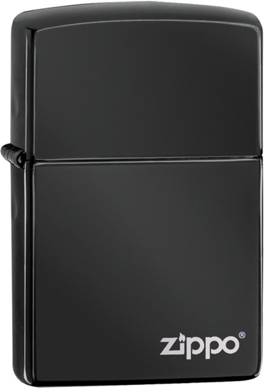 Zippo 24756ZL Classic Plain Ebony Pocket Lighter(Black)