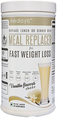 Medisys Nutritious Meal Replacer - Vanilla - 500gm Nutrition Drink(500 g, Vanilla)