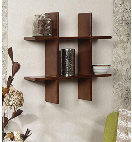 ed31b750f77 Onlineshoppee Plus MDF Wall Shelf(Number of Shelves - 3