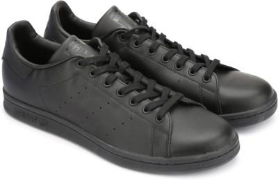 Adidas Originals STAN SMITH Sneakers(Black) at flipkart