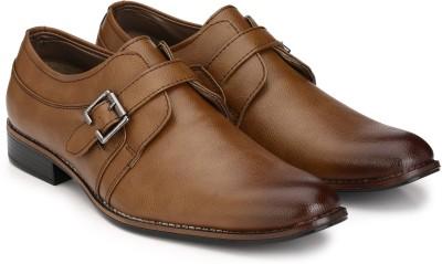 Sir Corbett Monk Strap(Tan)