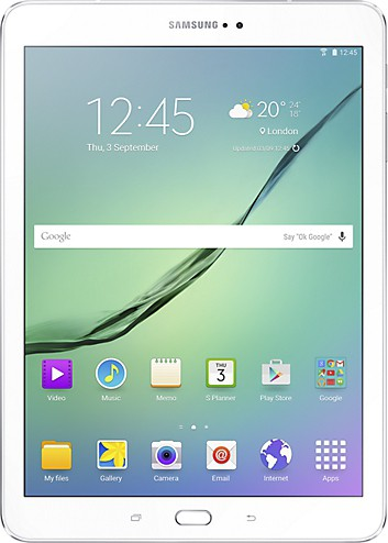 View SAMSUNG Galaxy Tab S2 32 GB 9.7 inch with Wi-Fi+2G(White) Tablet Note Price Online(Samsung)