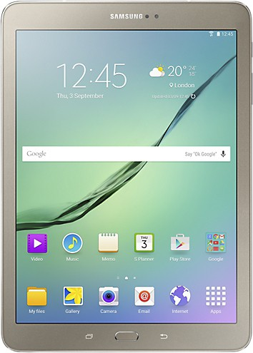 View SAMSUNG Galaxy Tab S2 32 GB 9.7 inch with 4G(Gold) Tablet Note Price Online(Samsung)