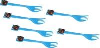 Funcart Avengers Party Forks (6 pcs/pack) Disposable Plastic Table Fork, Baby Fork, Salad Fork, Fruit Fork Set