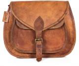 Goatter Women Tan Genuine Leather Sling ...