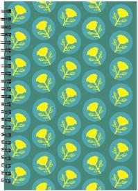 Paper Plane Design A4 Notebook(Paper Plane Design, Multicolor)