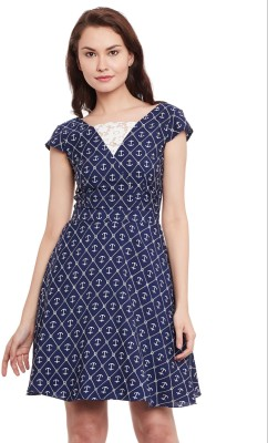 The Vanca Women's A-line Multicolor Dress at flipkart