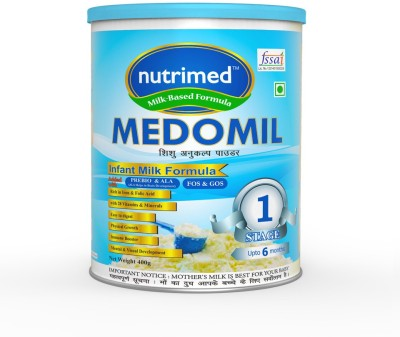 Nutrimed Medomil Stage 1 Infant Milk Formula (0-6 Months) Partially Hydrolyzed Formula(400 g)