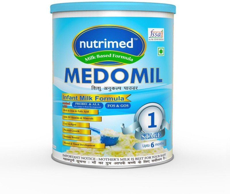 Nutrimed Medomil Stage 1 Infant Milk Formula (0-6 Months) Partially Hydrolyzed Formula(200 g)
